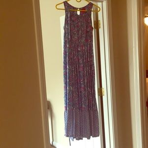 Lilly Pulitzer for Target maxi dress pink blue XL